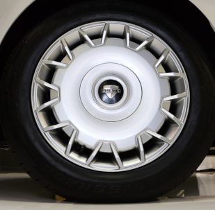 Une roue d'Aurus