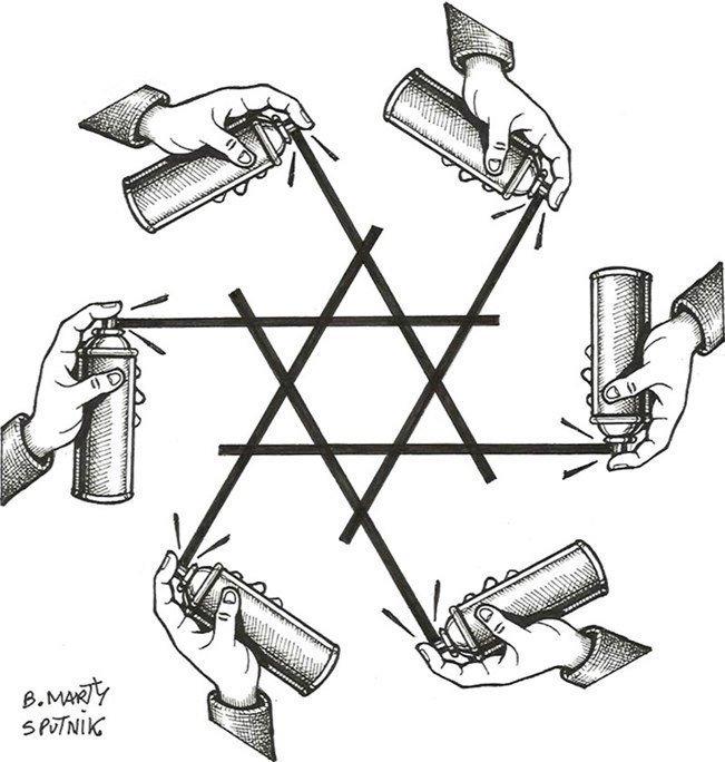 La hausse des tags antisémites