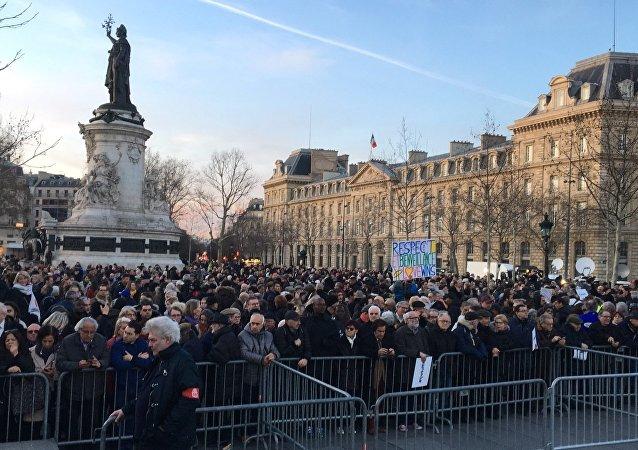 Marche contre l'antisémitisme, Paris, 19 février 2019