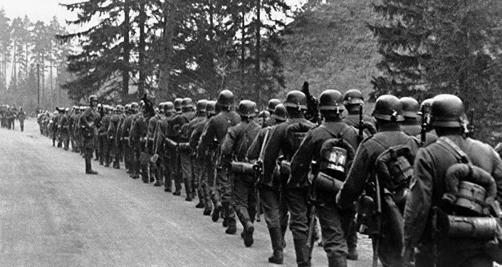 L'Invasion de l'armée nazi dans la Région des Sudètes в 1938
