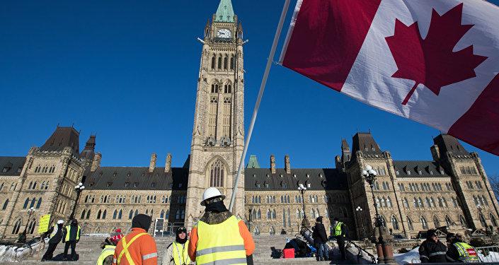 Gilets jaunes à Ottawa