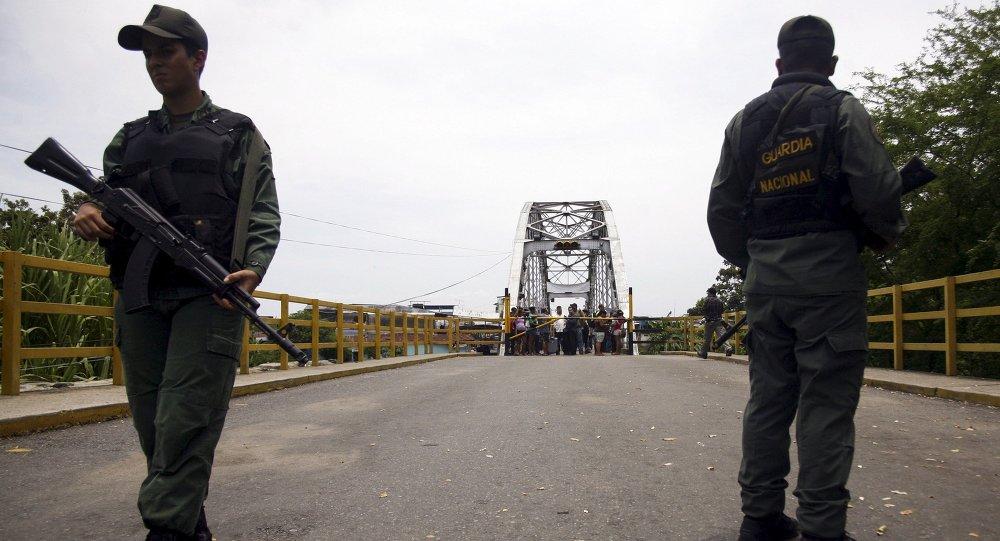 Frontière entre le Venezuela et la Colombie