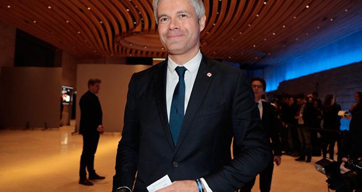 Laurent Wauquiez au Dîner du CRIF 2019