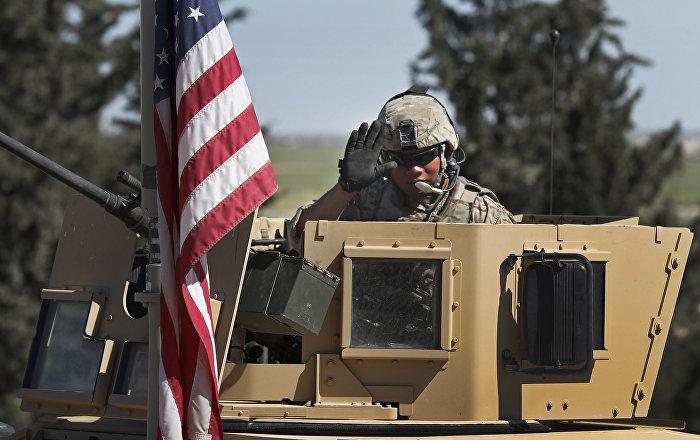 Militaire US en Syrie