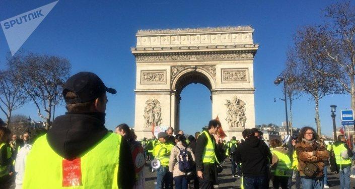 L'acte 15 des Gilets jaunes à Paris