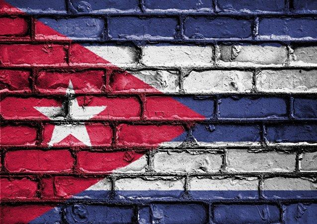 l'image du drapeau cubain