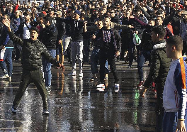 Manifestations en Algérie