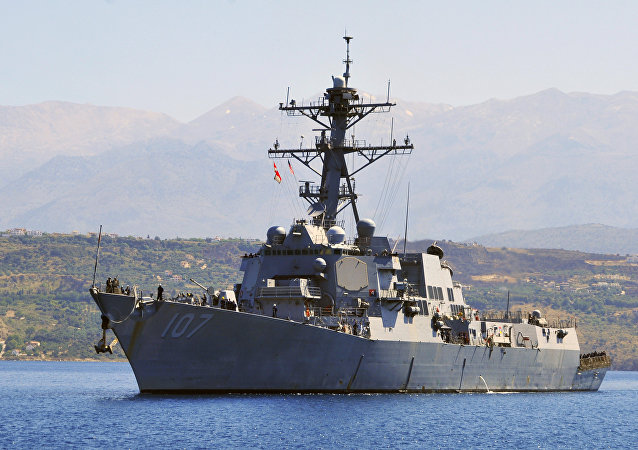 Le destroyer USS Gravely (DDG 107)