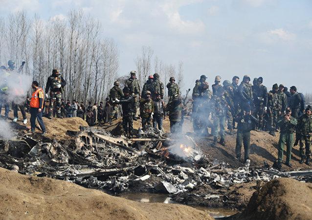 crash d'un avion des Forces aériennes indiennes