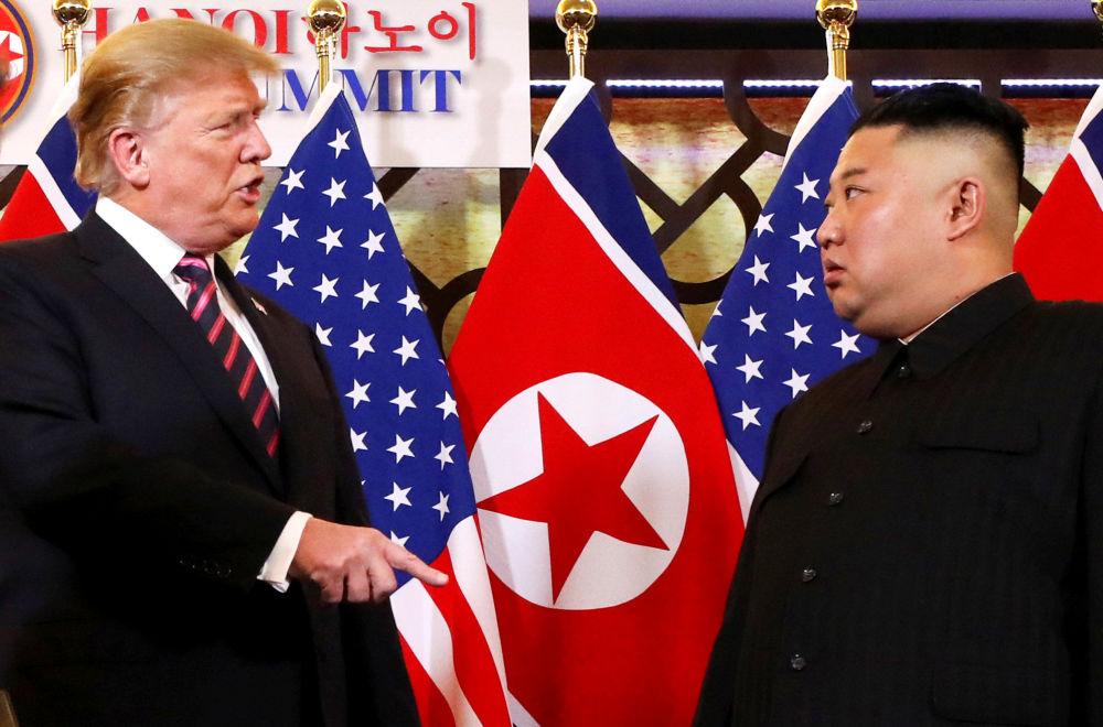L'accueil de Donald Trump et de Kim Jong-un à Hanoï