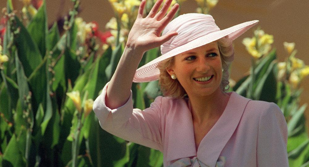 La princesse Diana