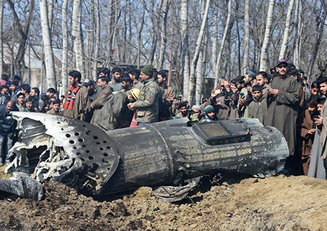 Avion indien abattu au Cachemire
