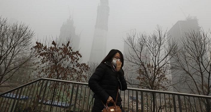 Pollution de l'air en Chine