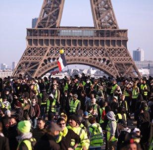 Mobilisation des Gilets jaunes à Paris