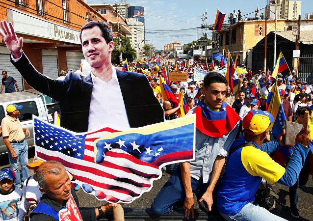 Manifestation au Venezuela
