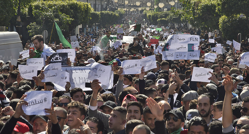 Manifestation à Alger (archives)
