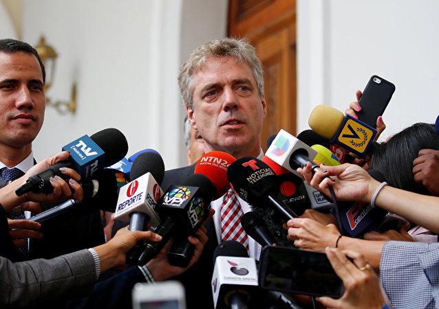 Daniel Kriener, ambassadeur d'Allemagne au Venezuela