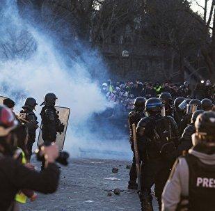 Les Gilets jaunes se mobilisent à Paris pour leur acte 17, le 9 mars (image d'illustration)