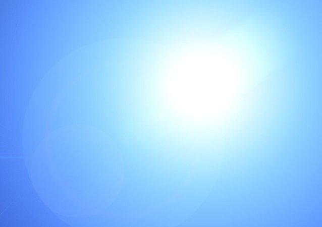 Un faisceau de lumière