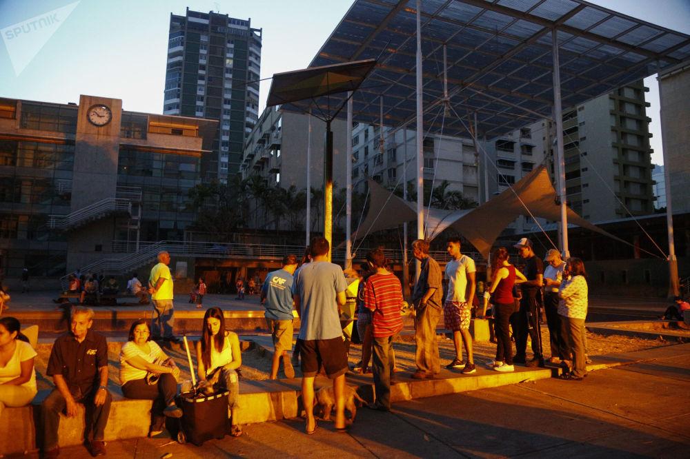 Caracas privé d'électricité