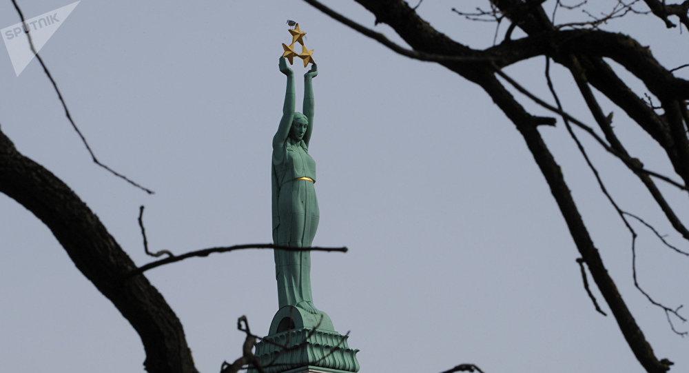 le Monument de la Liberté à Riga
