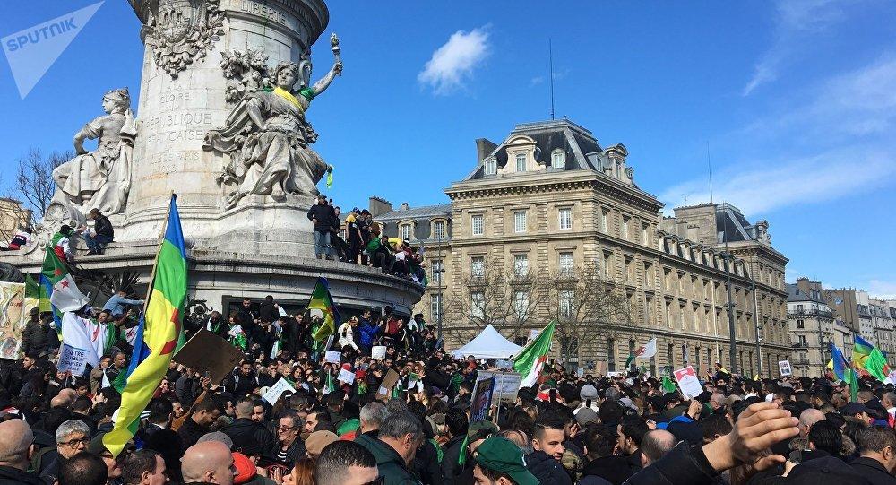 Manifestation à Paris