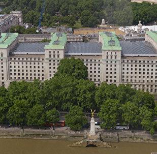 Le siège du ministère britannique de la Défense à Londres