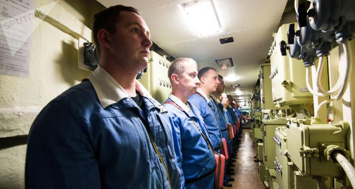 A l'intérieur du sous-marin russe Iouri Dolgorouki