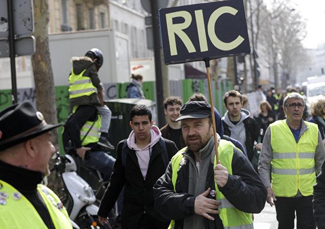 Acte 19 des Gilets jaunes à Paris