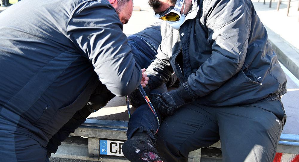 Les forains paralysent la ville et ses accès — Le Mans