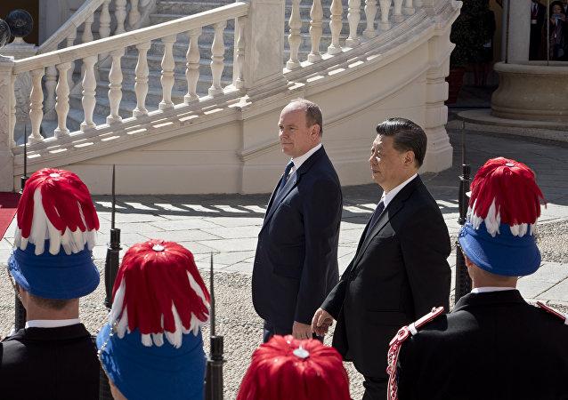 Xi Jinping en visite à Monaco