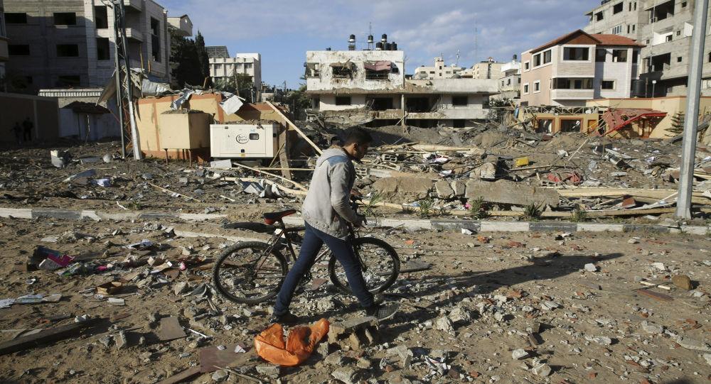 Destructions à Gaza. Archive photo