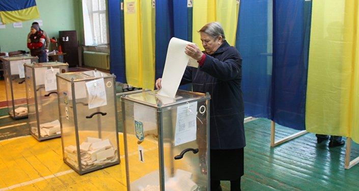 Le premier tour de la présidentielle en Ukraine