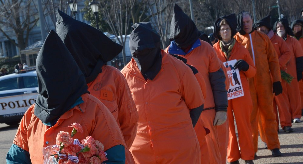 Guantanamo, protestations