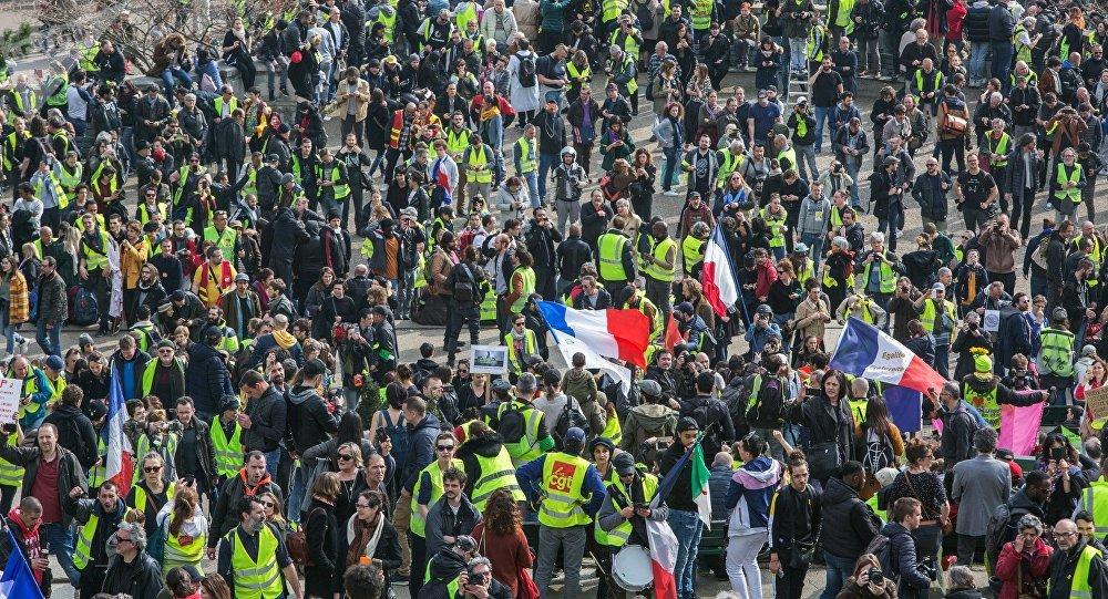 L'acte 19 des Gilets jaunes à Paris