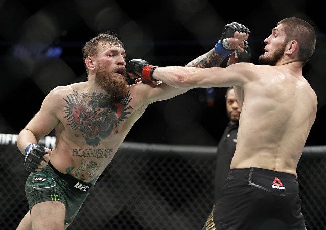Le combat de Conor McGregor et Khabib Nurmagomedov