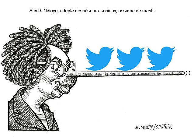 Sibeth Ndiaye, adepte des réseaux sociaux, assume de mentir?