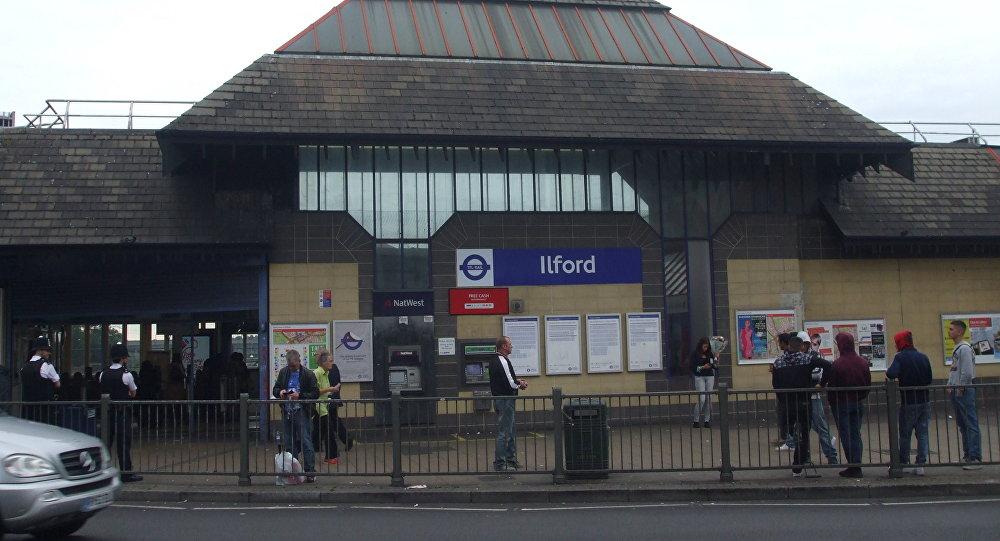 La gare d'Ilford, à l'est de Londres