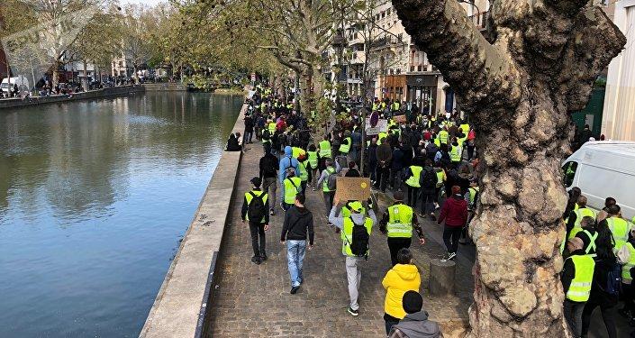Acte 21 des Gilets jaunes à Paris, le 6 avril 2019