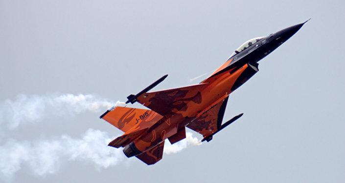 Un F-16 néerlandais