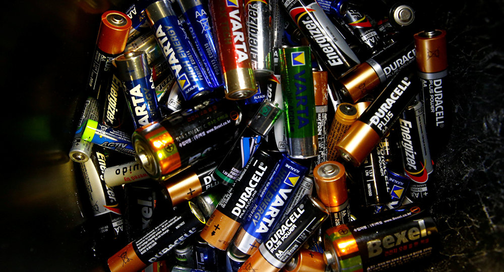 Des batteries