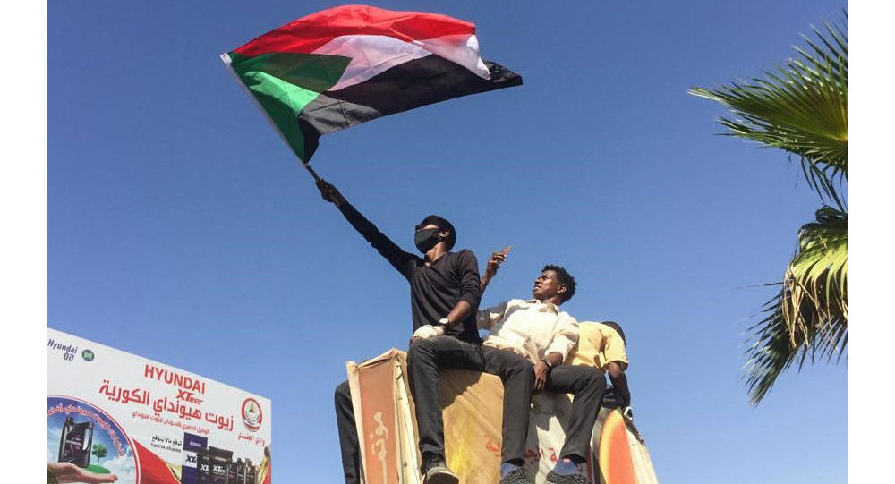 Manifestants au Soudan