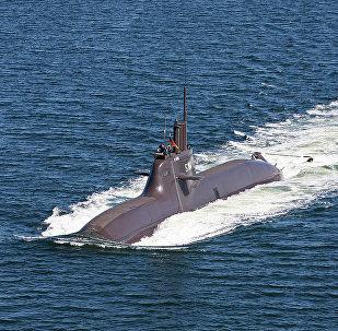 Un sous-marin de type 212A