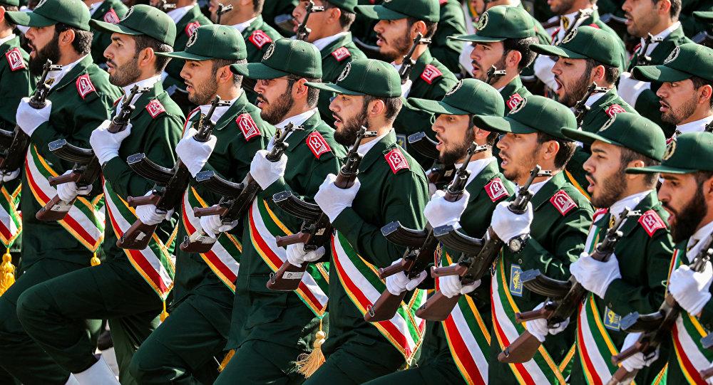 Le corps des Gardiens de la révolution islamique (CGRI)