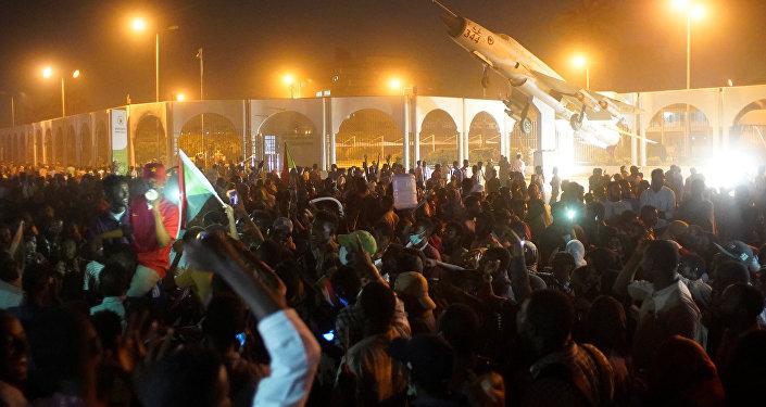 Manifestations au Soudan, le 10 avril 2019