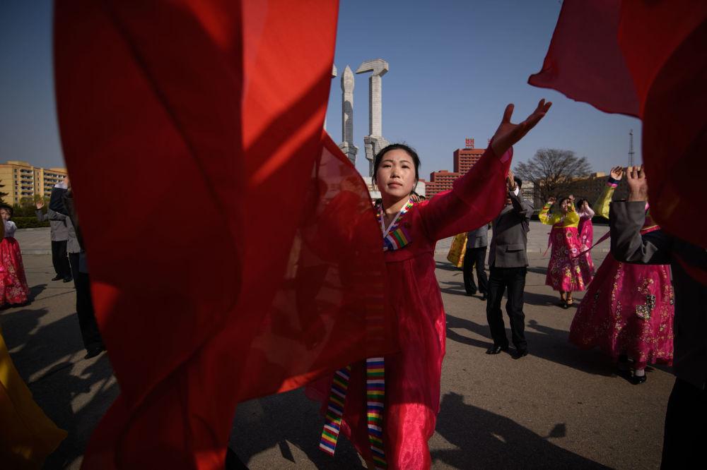 Festivités consacrées au Jour du Soleil à Pyongyang