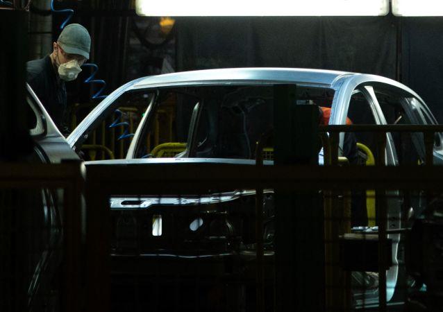 Production de véhicules du constructeur russe AVTOVAZ (photo d'archive)