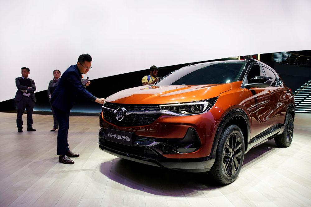 Inauguration du Salon international de l'automobile de Shanghai