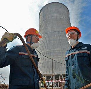 Construction d'une centrale nucléaire