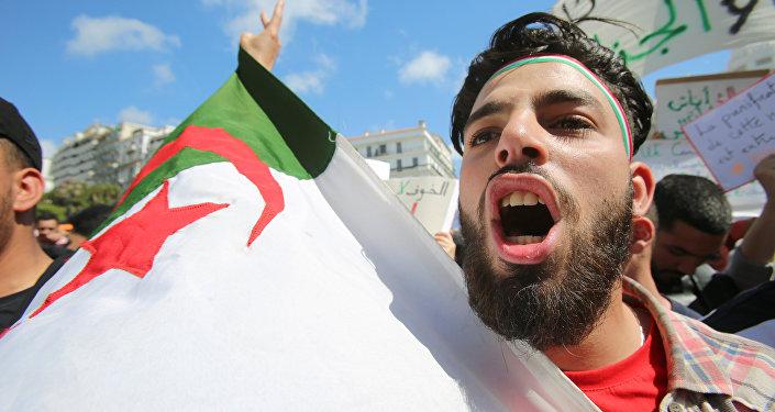 Les manifestations en Algérie